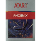 Phoenix - Atari 2600 (With Box and Book)