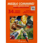 Missile Command - Atari 2600 (With Box and Book)