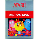 Ms. Pac-Man - Atari 2600 (With Box and Book)