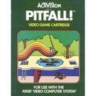 Pitfall!  - Atari 2600 (With Box and Book)