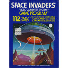 Space Invaders - Atari 2600 (With Box and Book)