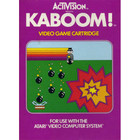 Kaboom! - Atari 2600 (With Box and Book)