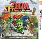 The Legend of Zelda: Tri Force Heroes - 3DS (Cartridge Only)
