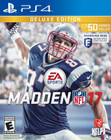 Madden NFL 17 - Deluxe Edition - PS4 [Brand New]
