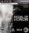 Medal of Honor - PS3 (Used)