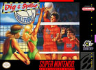Dig & Spike Volleyball - SNES (cartridge only)