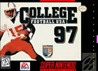 College Football USA '97 - SNES (cartridge only)
