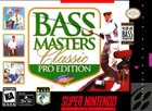 Bass Masters Classic Pro Edition - SNES (cartridge only)