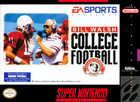 Bill Walsh College Football - SNES (cartridge only)