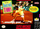 David Crane's Amazing Tennis - SNES (cartridge only)