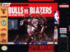 Bulls vs. Blazers And The NBA Playoffs - SNES (cartridge only)