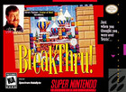 Breakthru! - SNES (cartridge only)