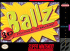 Ballz 3D - SNES (cartridge only)