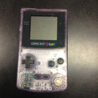 Game Boy Color Console Clear Purple CGB-001 (Used - GBC000)