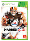 Madden NFL 12- XBOX 360 (Disc Only)