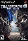 Transformers: The Game - PS2 (Disc Only)