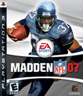 Madden NFL 07 - PS3 (Disc Only)