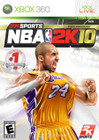 NBA 2K10 - XBOX 360 (Disc Only)