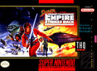 Super Star Wars: The Empire Strikes Back - SNES  (cartridge only)