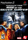 Fantastic Four: Rise of the Silver Surfer - PS2
