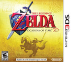 The Legend of Zelda: Ocarina of Time 3D - 3DS (Cartridge Only)