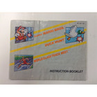 Super Mario Bros./Duck Hunt/ World Class Track Meet Instruction Booklet - NES