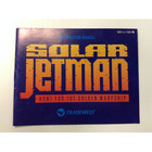 Solar Jetman Instruction Booklet - NES