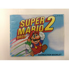 Super Mario Brothers 2 Instruction Booklet - NES