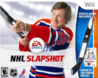 NHL Slapshot (Includes Two Hockey Sticks) - Wii