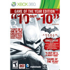 Batman: Arkham City Game of the Year Edition - XBOX 360