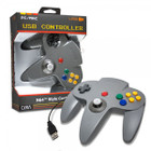 PC/ Mac N64 USB Controller (Gray) - CirKa