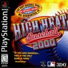 High Heat Baseball 2000 - PS1 (Disc Only)