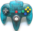 Nintendo 64 OEM Controller - Used (Ice Blue)