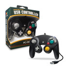 PC/ Mac Premium GameCube USB Controller (Black)  - CirKa