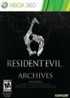 Resident Evil 6: Archives - XBOX 360