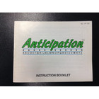 Anticipation Instruction Booklet - NES