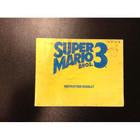 Super Mario Bros. 3 Instruction Booklet - NES