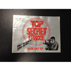 Top Secret Episode Instruction Booklet - NES