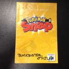 Pokemon Snap Instruction Booklet - N64