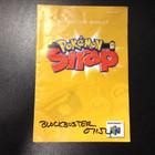 Pokemon Snap Instruction Booklet - N64