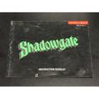 Shadowgate Instruction Booklet - NES
