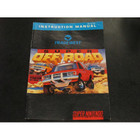 Super Off Road Instruction Booklet - SNES