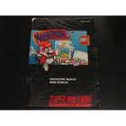 Mario Paint Instruction Booklet - SNES