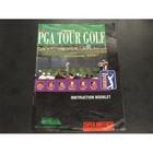 PGA Tour Golf Instruction Booklet - SNES
