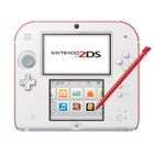 Nintendo 2DS Console Red + White WAP-002 (Used - N3DS007)
