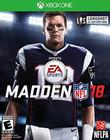 Madden NFL 18 - Xbox One {Brand New}