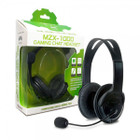 Xbox 360 MZX-1000 Stereo Headset (Black) - Tomee