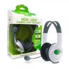 Xbox 360 MZX-1000 Stereo Headset (White) - Tomee