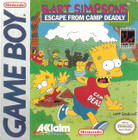 Bart Simpson's Escape From Camp Deadly - GAMEBOY (Cartridge Only)