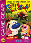 Quest for the Shaven Yak starring Ren & Stimpy - Sega Game Gear (Cartridge Only)